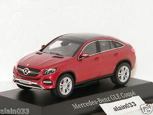 Mercedes-Benz GLE Coupé 2015-19 C292 black schwarz 1:43 Norev 351312