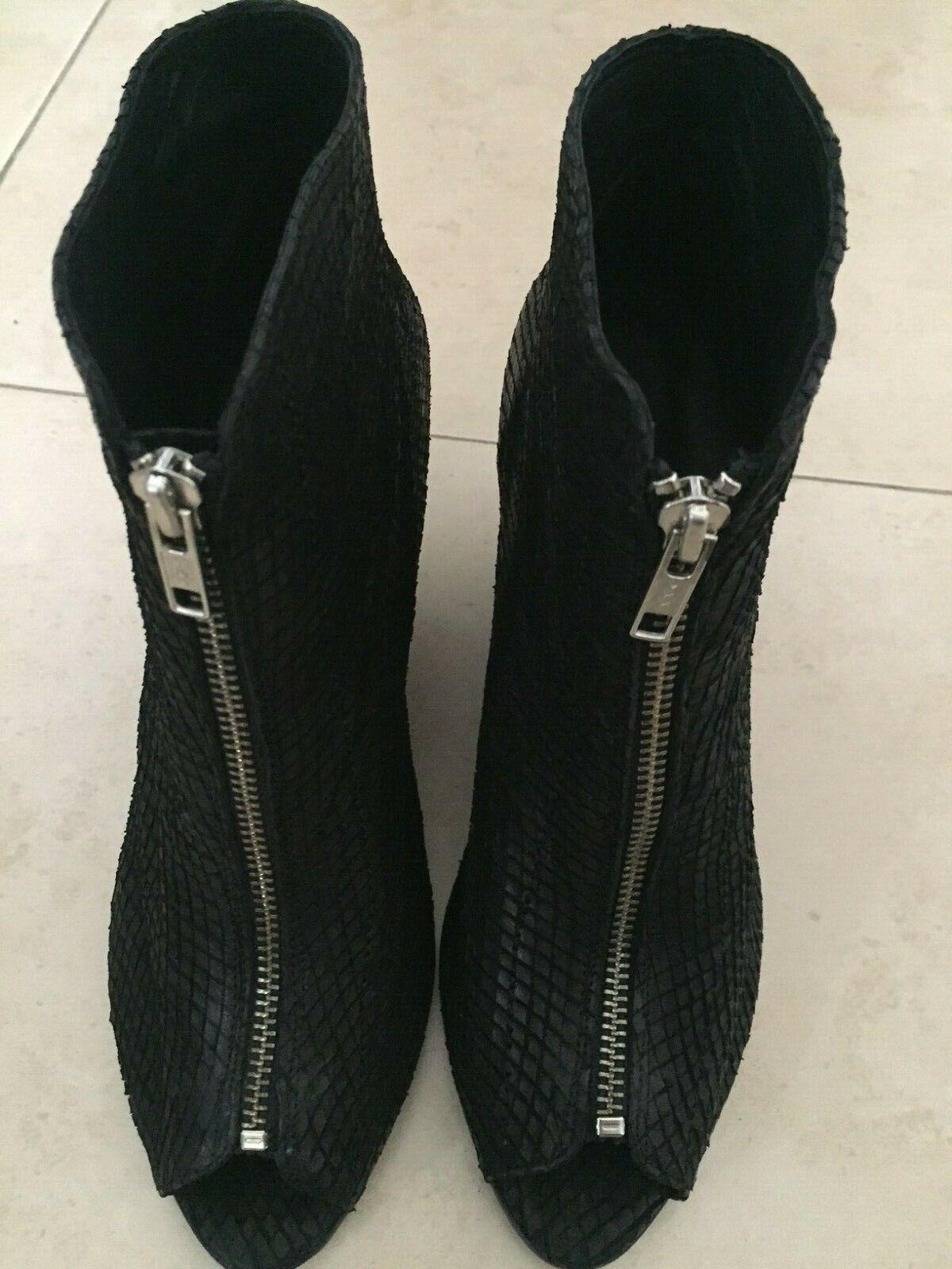 marchio famoso SANDRO,superbe bottines en cuir cuir cuir neuves,Dimensione 39  le migliori marche vendono a buon mercato
