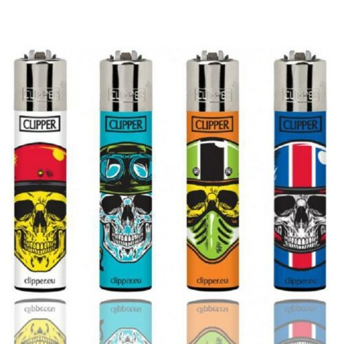 Clipper-super-lighter-gas-refillable-collectable-set-of-4-most-reliable-lighter