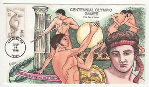 SSS-Collins-HP-FDC-1996-32c-Centennial-Olympic-Games-Sc-3087