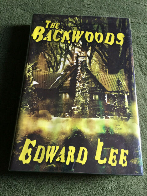 THE BACKWOODS by Edward Lee SIGNED hardcover LIMITED first edition CD 2005