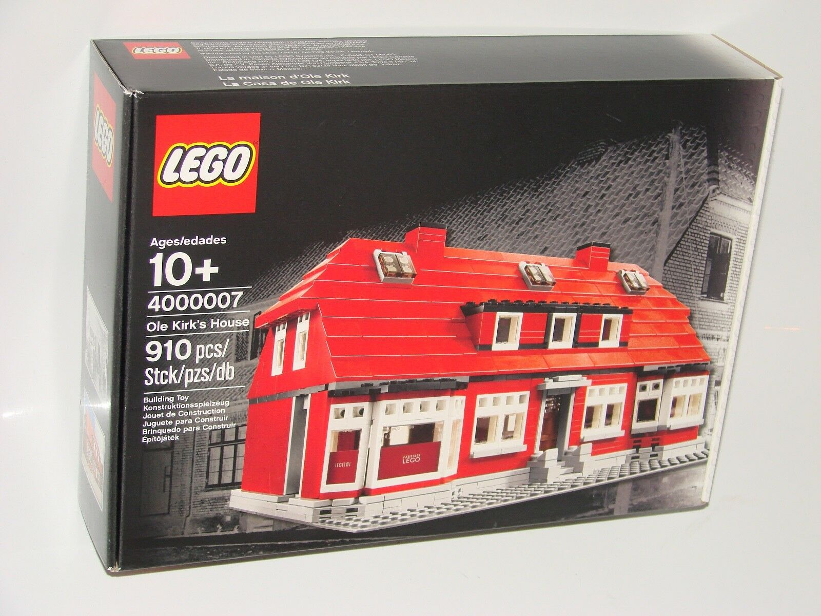LEGO ® Exclusive 4000007 Ole Kirk's House NUOVO OVP _ NEW MISB NRFB hard to find