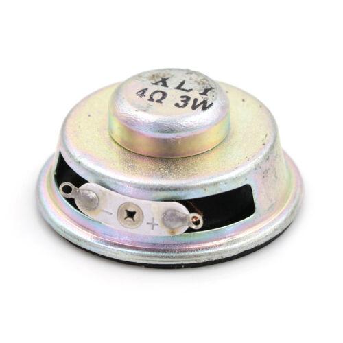 """1.5/"""" 4 Ohm 4Ω 3W Full range Audio Speaker Stereo Woofer Loudspeaker X"""