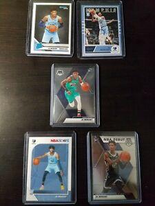 Ja-Morant-Rookie-Card-Lot-of-5-Mosaic-Chronicles-Hoops-Donruss-Memphis-Grizzlies