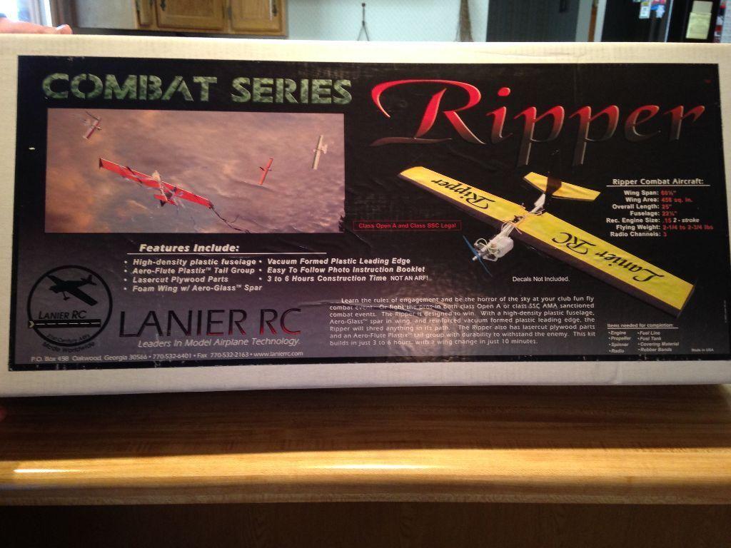 nuovo  R C Lanier Ripper - Combat Series Kit  contatore genuino