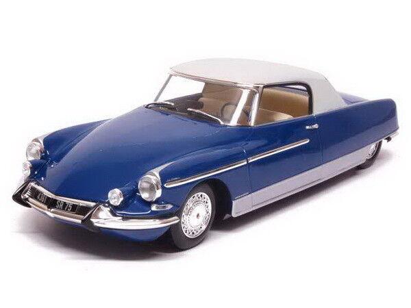 Norev Citroën DS 19 1964 1:18 Chapron Le Dandy blu metallic