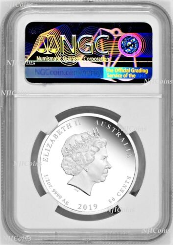 2019 Australia PROOF Silver Lunar Year of the PIG NGC PF 70 1//2oz Coin ER