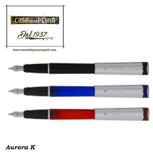 penna AURORA K sfera/stilografica/roller