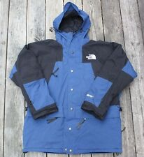 Vintage 90s North Face Navy Mountain Climbing Jacket size XL DOUBLE LAYERED!