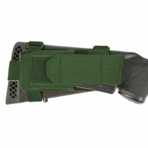 BlackHawk Tactical Buttstock Mag Pouch W//Adjustable Lid OD BH52BS16