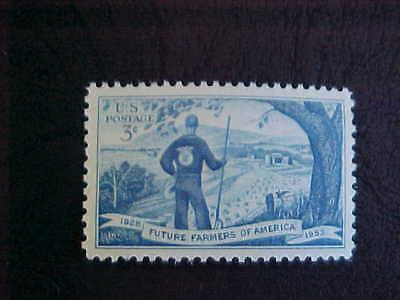 1953 POSTAGE STAMP MINT     FFA    FUTURE FARMERS OF AMERICA