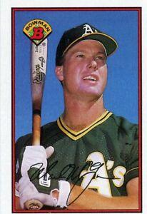 1989 Bowman Baseball Card # 197 Mark McGwire