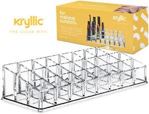 Lipstick-Holder-Display-Stand-Multi-Level-24-Deep-Slot-Acrylic-Makeup-Organizer