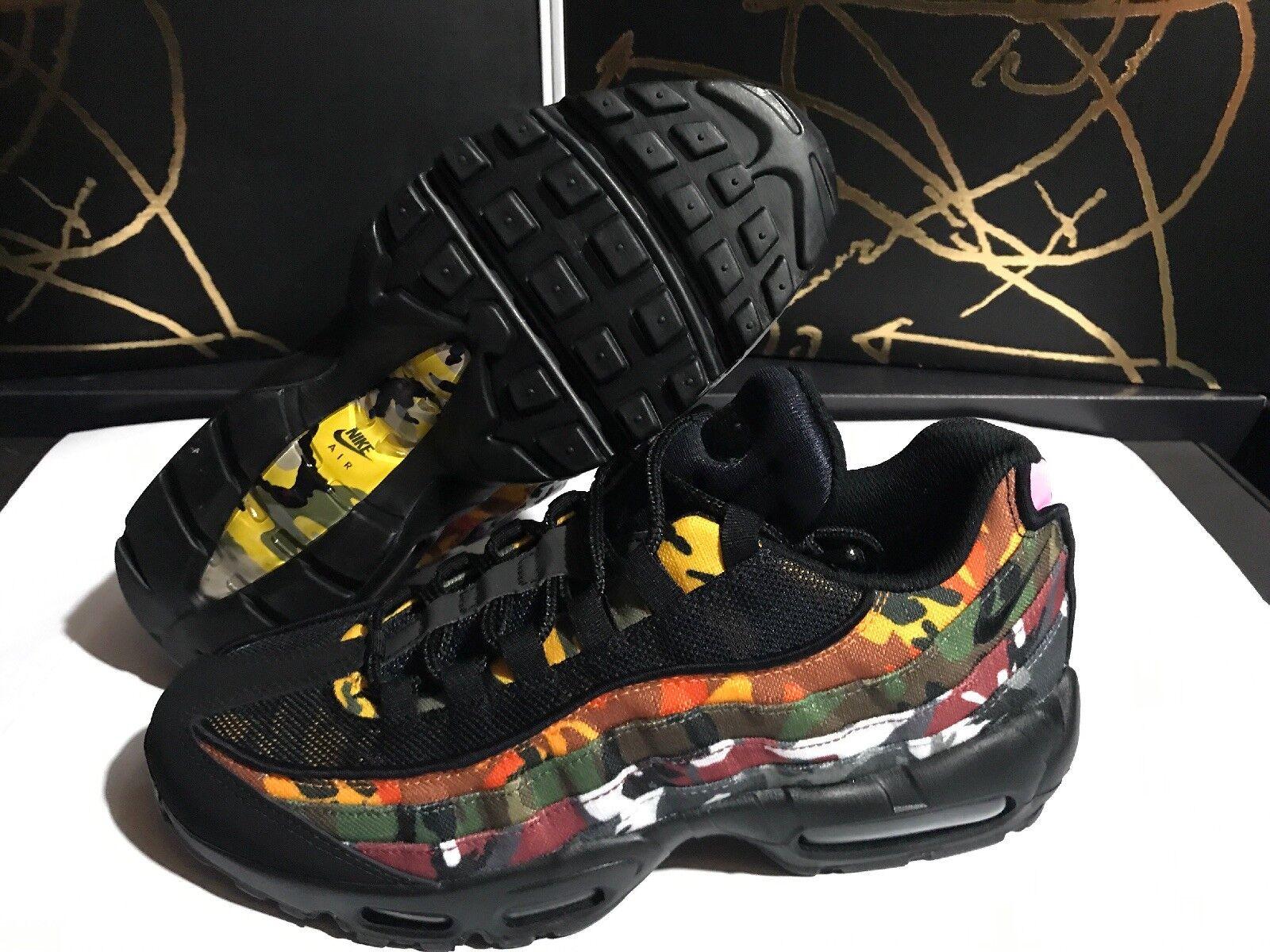 reputable site dc3b1 2d0a8 Nike Air Max 95 ERDL Taille de parti 8.5 Multicolore Camo Qu est-ce que le  AR4473-001 NOUVEAU