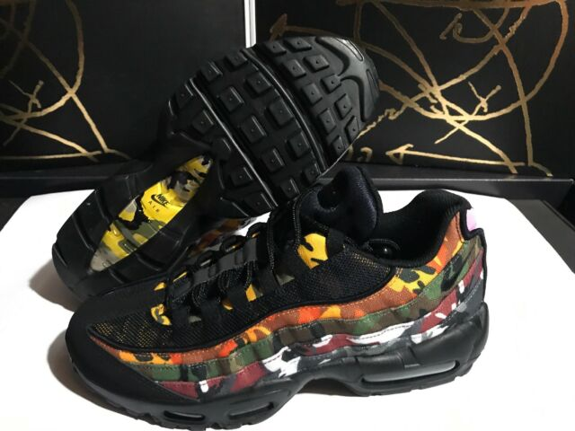 Nike Air Max 95 ERDL Party Black Multicolor Ar4473 001 Men's Size 9