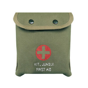 JUNGLE-FIRST-AID-POUCH-GREEN-EMS-HUNTING-SHOOTING-CAMPING