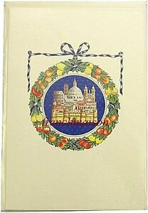 COLOSSEUM-Vatican-LANDMARKS-Fine-Italian-Rome-Blank-Card-Envelope-MADE-IN-ITALY