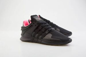 hot sale online 408c3 9117a Image is loading Adidas-Men-EQT-Support-ADV-black-core-black-