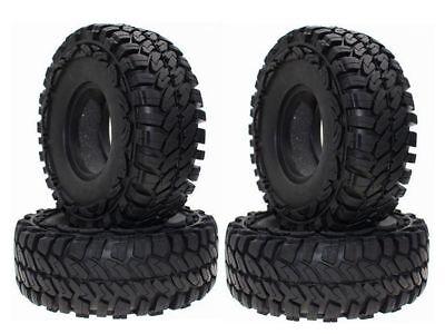 4pcs RC 1//10 Rock Crawler 1.9inch Tire 114mm Trx-4 AxialScx10 Foam Inserted fit