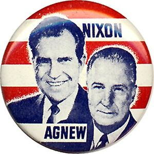 Image result for nixon agnew 1968 images