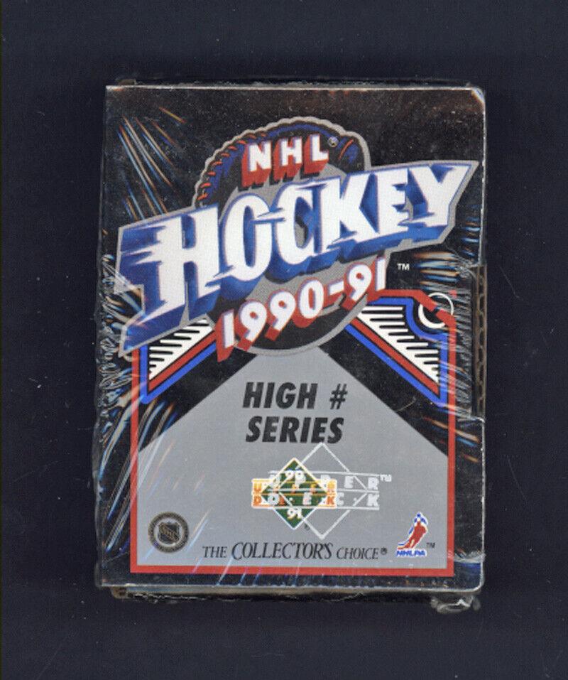 JAGR /& 172 ROOKIES ! 4-1990-91 UPPER DECK HOCKEY SERIES 1 FACTORY SEALED BOXES