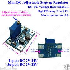 DC-DC Step up Boost Converter Adjustable 3.3V 5V 9V 12V 2A Power Supply Module