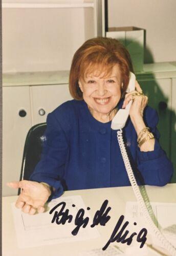 Autogramm Brigitte Mira verstorbene Volksschauspielerin Handsigniertes Foto
