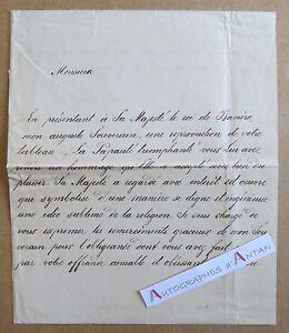 1878-ZIEGLER-Chateau-BERG-Allemagne-Secretaire-Roi-de-Baviere-gt-Peintre-Galimard