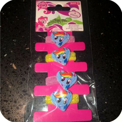 Girls Hair Accessories My Little Pony Hair Bobbles Card Of 4