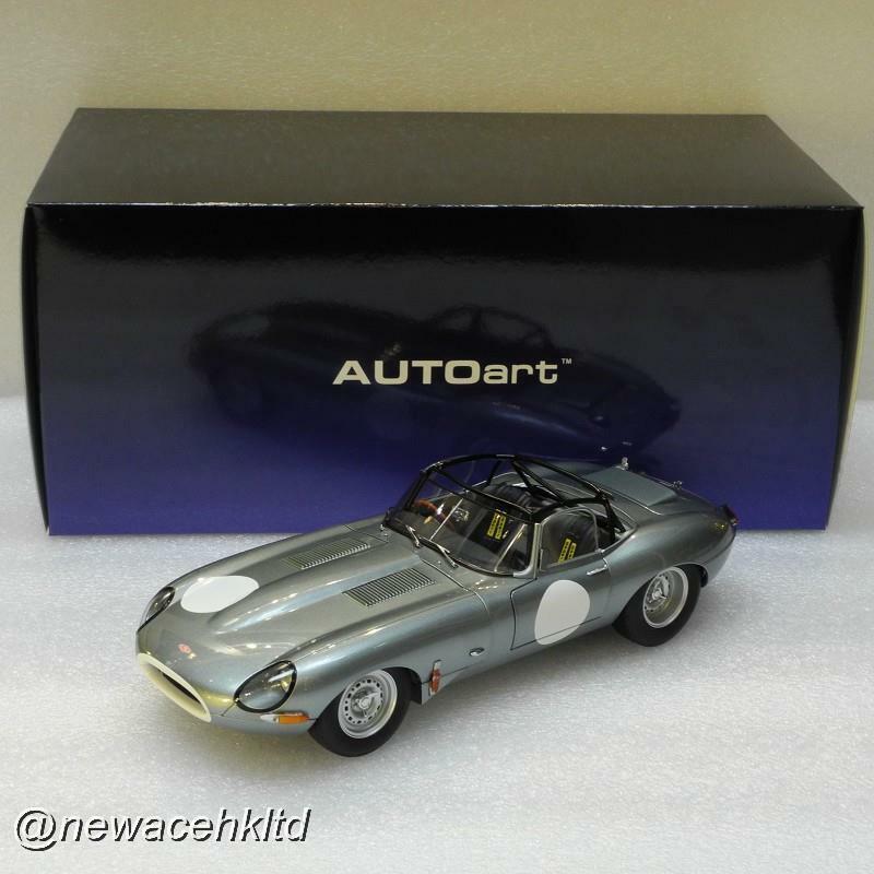 conveniente Jaguar ligero E-Tipo (plata) Autoart Model Model Model 1 18  73646  Hay más marcas de productos de alta calidad.