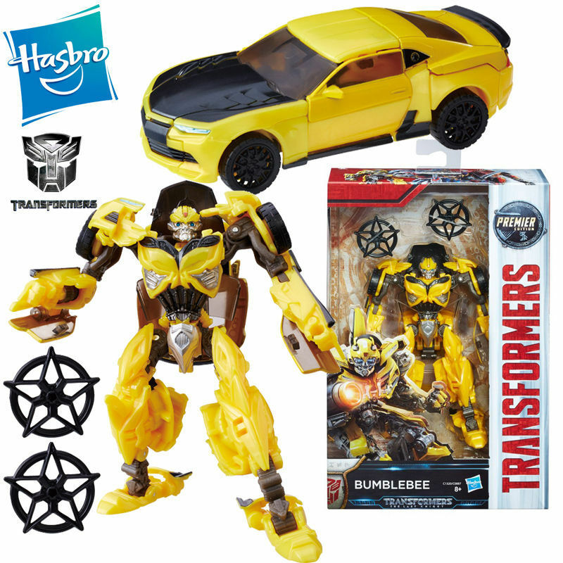 TRANSFORMERS 5 5 5 THE LAST KNIGHT BUMBLEBEE ACTION FIGURES CAR PREMIER EDITION TOY 838943