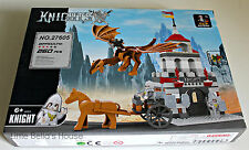 Ausini Castle Set #27605 Building Block Toy 290pcs Knight Dragon