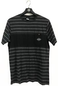 Rip-Curl-PIVOT-TEE-Mens-Crew-Neck-Short-Sleeve-Cotton-T-Shirts-New-Black-Marle