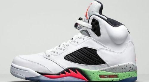 Nike 16.136027-115.feuer air jordan v retro - stars größe 5 16.136027-115.feuer Nike rote niedrigen traube gezüchtet 1a2714