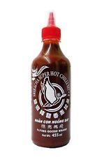 Flying Goose Brand - Sriracha Super Hot Chilli Sauce - 455ml Plastic Bottle