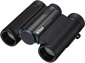 Nikon-Anti-Vibration-Binoculars-10-x-25-STABILIZED-Blue-STB10X25BL-New-in-Box