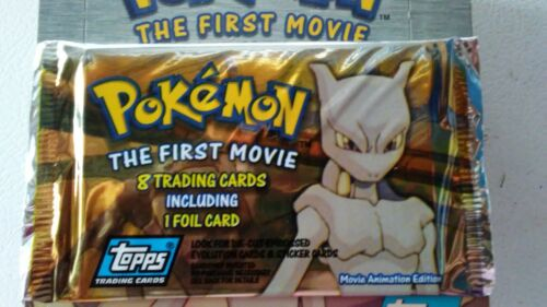 Tools Pokemon The first movie trading cards.