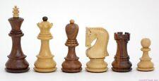 "ZAGREB CHESS SET, CLASSIC EASTERN EUROPEAN STYLE, YUGOSLAVIA 1959, K=3.75"" (414)"