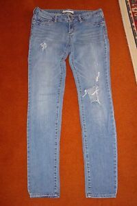 Ladies-Bullhead-Black-Denim-Leggings-Size-US-7