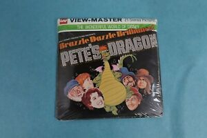 VINTAGE VIEW-MASTER 3D REEL PACKET H38 DISNEY'S PETE'S DRAGON SEALED