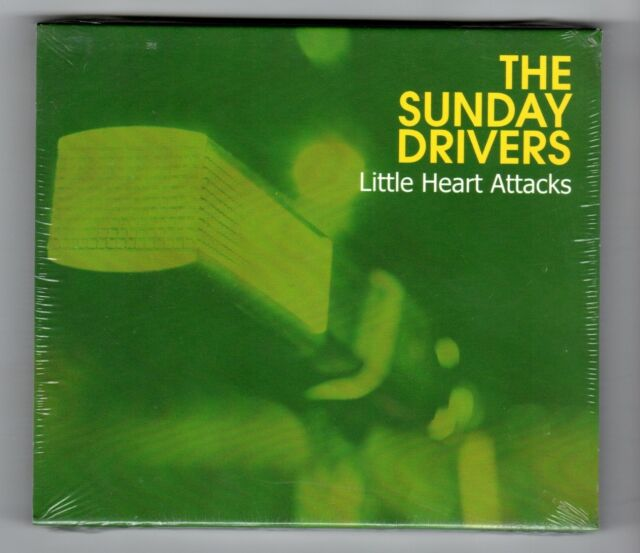 (IA466) The Sunday Drivers, Little Heart Attacks - 2004 Sealed CD
