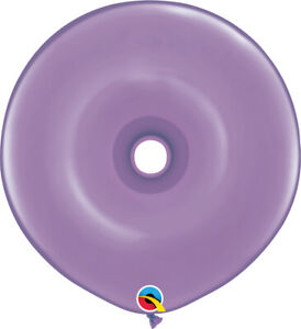 DONUT-BALLOONS-SPRING-LILAC-25ct-QUALATEX-16-034-GEO-DONUT-MODELLING-BALLOONS
