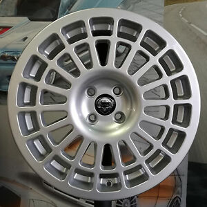 Details About A Set Of Four Alloy Wheels 8jx17 4x98 Fit Lancia Delta Integrale Hf Evo M