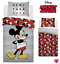 Oficial Disney Mickey Mouse /'Verdadero Original/' Simple Edredón Reversible Lecho