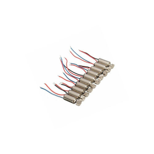 10Pcs 4x8mm DC1.5-3V Micro Coreless Vibrating Vibration Motor For SANYO UK