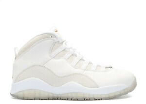 new arrival 3ca52 3c68a Details about Nike Air Jordan 10 X Retro OVO Drake White Gold Size 12.  819955-100