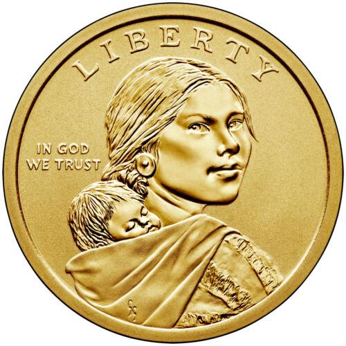 2019-P BU Native American Sacagawea Dollar