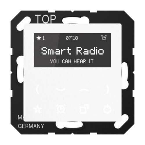Jung Radio RADA508WW mit Display