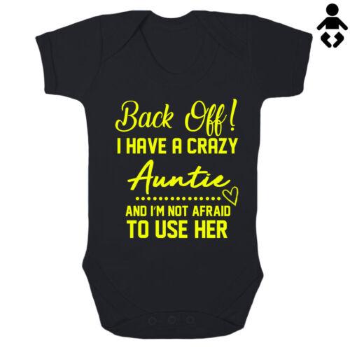 J/'ai une folle tante et je ne suis pas peur d/'utiliser son bébé grandir bébé gilet body