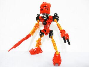 Lego 8534 Bionicle Toa TAHU - 100% Complete Figure